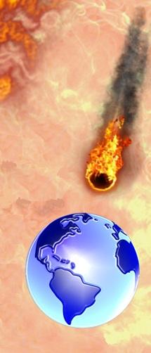 La montagne embrasée par le feu d'Apocalypse 8:8 symbolise l'autorité et le pouvoir de Dieu. Elle est embrasée par le feu de la colère de Dieu qui l'accompagne et provoque sa précipitation dans la mer.  car le feu de ma colère s'est allumé et il brûlera..