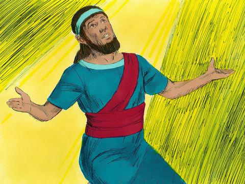 Daniel demande à Dieu de l'aider à interpréter le rêve du roi Nébucadnetsar car tous risquent de mourir