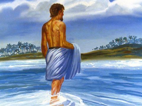 """Lorsque le prophète Élisée demande à Naaman, chef de l'armée syrienne, de se baigner 7 fois dans le Jourdain afin d'être guéri, il déclare avec arrogance : «Les fleuves de Damas, l'Abana et le Parpar, ne valent-ils pas mieux que les fleuves d'Israël."""""""