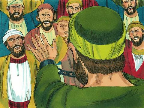 Les Juifs ont continuer à montrer leur haine de Jésus et de ses disciples après la mort de Jésus. Ils ont mis à mort de nombreux chrétiens.
