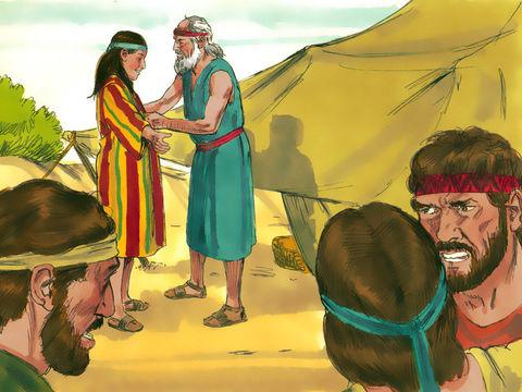 """Joseph, fils de Rachel, est le fils préféré de Jacob, ce qui provoque la jalousie de ses frères. « Ses frères remarquèrent que leur père l'aimait plus qu'eux tous et se mirent à le détester. Ils étaient incapables de lui parler sans agressivité."""""""