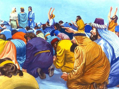 Chadrak, Méchak et Abed-Nego ont refusé de se prosterner devant la statue du roi babylonien Nébucadnetsar. Suivons leur exemple, ne nous prosternons jamais devant la bête 666, il faut obéir à Dieu plutôt qu'aux hommes !