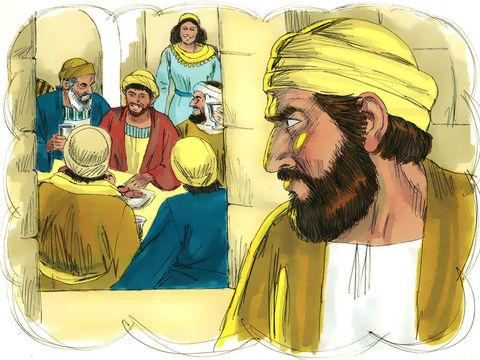 a parabole du fils prodigue - le père accueille le fils pécheur, tue le veau engraissé et prépare une fête en son honneur, ce qui provoque la jalousie du frère aîné qui a toujours travaillé et obéi à son père