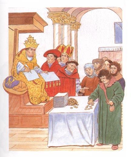La vente des indulgences catholiques - le salut peut-il s'acheter? Non! Le salut est un don gratuit de Dieu et de Jésus basé sur la FOI dans le sacrifice de Jésus. Les catholiques récitent des prières payantes pour l'âme du défunt encore aujourd'hui.