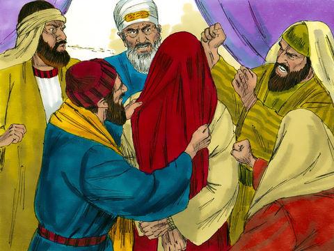 les pharisiens ont comploter pour arrêter Jésus et le maltraiter