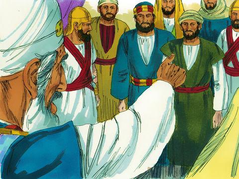 Après la mort de Jésus, le nombre des chrétiens ne fait qu'accroître et les chefs religieux juifs organisent les persécutions à leur encontre. Les Pharisiens sont jaloux des apôtres de Jésus qui accomplissent des miracles.
