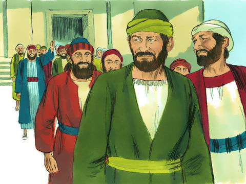 A Antioche, Paul et Barnabas rencontrent beaucoup d'oreilles attentives, mais cela attise la jalousie des Juifs.