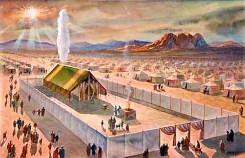 Car le nuage de Jéhovah était au-dessus du tabernacle pendant le jour, et un feu restait dessus pendant la nuit, sous les yeux de tout le peuple d'Israël, à toutes les étapes de leur voyage.