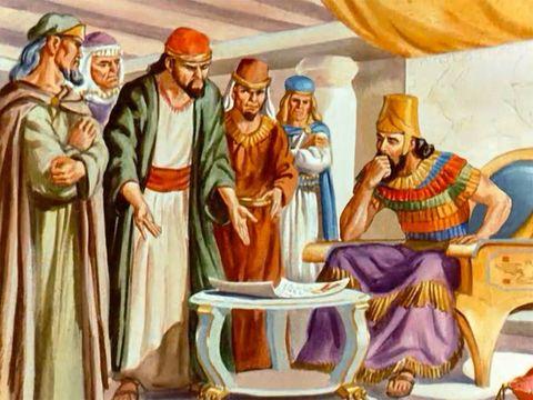 Les décrets chez les Mèdes et les Perses sont irrévocables. Daniel va devoir être jeter dans la fosse aux lions.