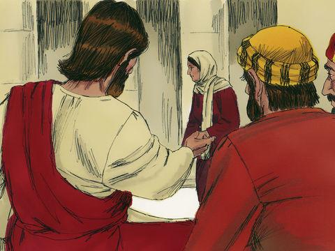 «Je vous le dis en vérité, cette pauvre veuve a mis plus que tous les autres, 4 car eux tous ont pris de leur superflu pour mettre des offrandes [à Dieu] dans le tronc, mais elle, elle a mis de son nécessaire, tout ce qu'elle avait pour vivre.»