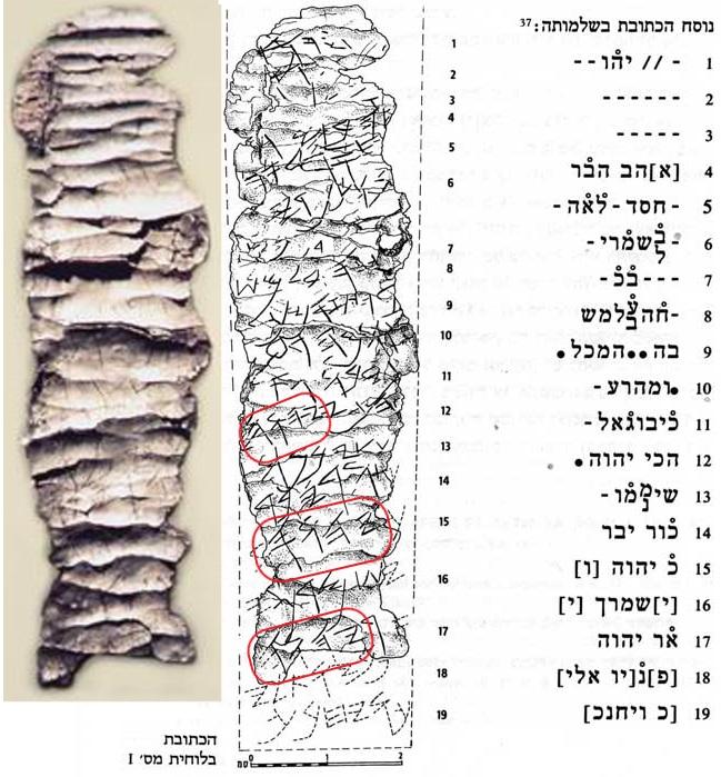 Les rouleaux d'argent de Ketef Hinnom KH1 et KH2, datant du 7ème siècle avant J-C, contiennent le Nom de Dieu !