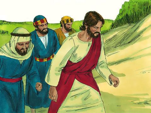 Alors que Jésus se trouve sur une montagne avec Pierre, Jacques et Jean, ses vêtements s'illuminent d'une blancheur éblouissante, son visage resplendit comme le soleil ; Cette transfiguration, vision de la puissance et de la magnificence céleste du Christ