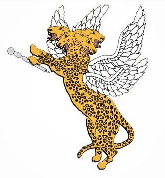 4 bêtes qui sortent de la mer dans la prophétie de Daniel. La troisième est un léopard ailé avec 4 têtes, elle correspond à la Grèce qui a mené une guerre éclair.