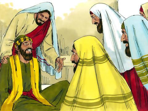 Jésus menace l'esprit impur: «Tais-toi et sors de cet homme.» Le démon jette l'homme au milieu de l'assemblée et sort de lui sans lui faire aucun mal. Tous sont saisis de frayeur, Il commande avec autorité et puissance aux esprits impurs, et ils sortent!