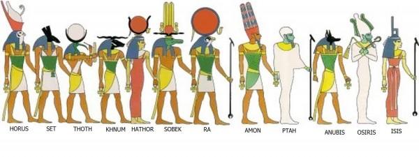 """Dans son Apologie adressée à l'empereur Hadrien, Aristide d'Athènes explique que les Égyptiens sont allés jusqu'à adorer des animaux privés de raison. « Dès l'antiquité ils adorent Isis, ayant comme frère et mari Osiris, qui fut tué par son propre frère."""""""