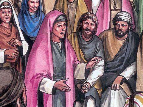 """Jésus lui dit: """" Ne me retiens pas, car je ne suis pas encore monté vers mon Père, mais va trouver mes frères et dis-leur que je monte vers mon Père et votre Père, vers mon Dieu et votre Dieu."""""""