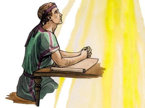 C'est un ange qui a transmis à Jean la révélation de Jésus écrite dans le livre de l'Apocalypse.