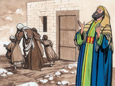 Les gens du peuple qui sont méprisés sont représentés par Lazare. À l'image de cet homme couvert d'ulcères comme s'ils étaient spirituellement malades. Cette situation n'a que trop duré. Jésus sait que les choses vont radicalement changer.