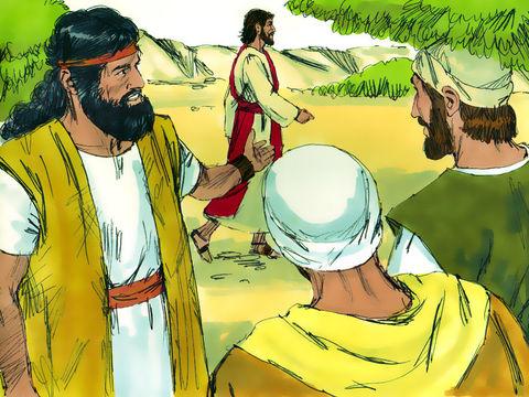 """Jean le Baptiste a déclaré qu'il n'était pas le Messie mais se considérait comme l'ami de l'époux. """"l'ami de l'époux se tient près de lui et fait ce qu'il lui dit. Toute sa joie est d'entendre la voix de l'époux. Voilà pourquoi je suis pleinement heureux."""