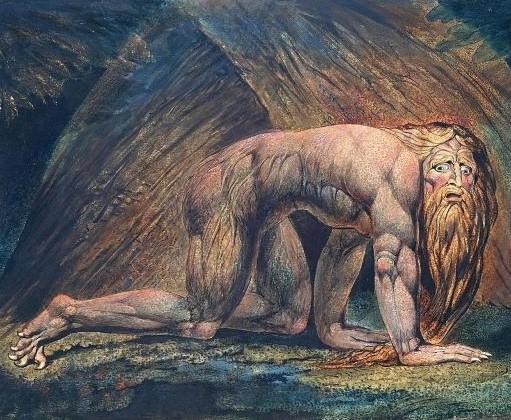 Le roi de Babylone est chassé du milieu des hommes pour vivre avec les animaux sauvages, laissant pousser chevelure et ongles. Le plus grand roi de la terre est condamné à vivre 7 années de folie en raison de son orgueil !