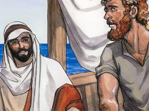 L'apôtre Jean fait partie des 4 premiers disciples de Jésus: André et son frère Simon Pierre, Jean et son frère Jacques.   Jean, et son frère Jacques, sont les fils de Salomé et de Zébédée.