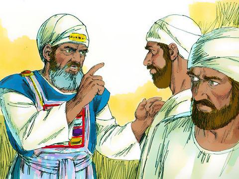 Un jour, un prophète vient annoncer à Eli ce qui arrivera à toute sa famille :  tous les membres de ta famille mourront dans la force de l'âge. Tu auras pour signe ce qui arrivera à tes deux fils Hophni et Phinées: ils mourront tous les deux le même jour.