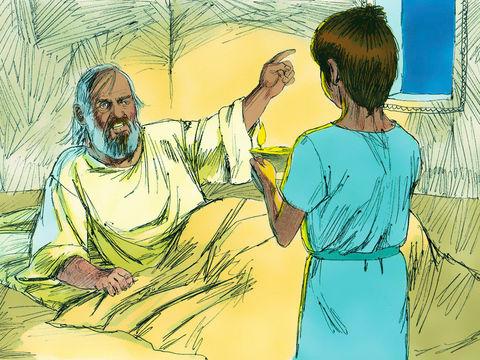 Jéhovah va punir Eli et sa famille pour avoir laissé faire les fils d'Eli agir d'une manière indigne et pour avoir manqué de respect vis à vis de Dieu et de son culte.