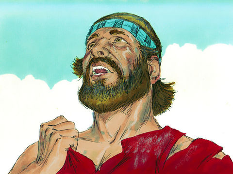Lorsque les hommes sous les ordres de Josué se font battre par les habitants d'Aï bien moins nombreux, Josué déchire ses vêtements. Lui et les anciens d'Israël jette de la poussière sur leur tête. Il est évident que Jéhovah Dieu n'est pas avec eux.