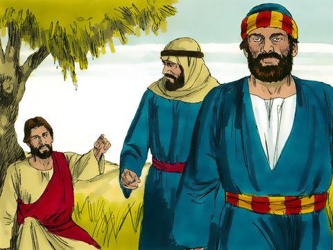 Jésus demande à Pierre et à Jean de préparer le repas de la Pâque précédant sa mort et au cours de laquelle, il allait institué la Nouvelle Alliance.
