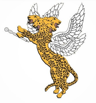 Le léopard ailé de la vision de Daniel a 4 têtes, ce qui illustre parfaitement l'accomplissement prophétique du royaume d'Alexandre le grand partagé entre ses quatre successeurs, 4 généraux.