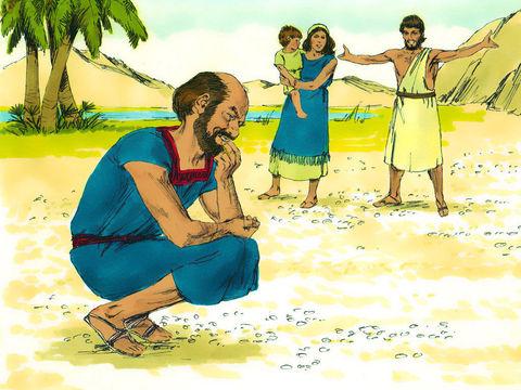 Les Israélites mangèrent de la manne pendant 40 ans, jusqu'à leur arrivée dans un pays habité. Ils mangèrent de la manne jusqu'à leur arrivée aux frontières du pays de Canaan. Dans l'arche de l'alliance, sera préservé un vase contenant de la manne.