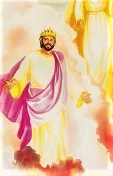 On lui a donné la domination, la gloire et le règne, et tous les peuples, les nations et les hommes de toute langue l'ont servi. Sa domination est une domination éternelle qui ne cessera pas et son royaume ne sera jamais détruit.