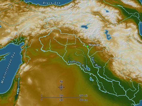 L'Euphrate est un fleuve très important qui a été témoin de nombreux évènements dans l'ancien testament. Une prophétie concernant Jésus nous parle de son règne de justice et de paix de l'Euphrate aux extrémités de la Terre.