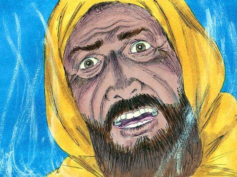 L'Éternel livrera même Israël avec toi entre les mains des Philistins. Demain, tes fils et toi, vous serez avec moi et l'Éternel livrera le camp d'Israël entre les mains des Philistins.». Saül est alors rempli d'épouvante.