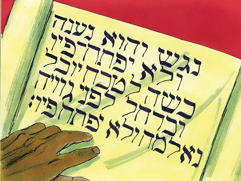 L'humble va ouvrir son cœur à l'enseignement de Dieu et de Jésus comme l'eunuque éthiopien enseigné par Philippe qui est prêt à conformer sa vie aux saintes Ecritures