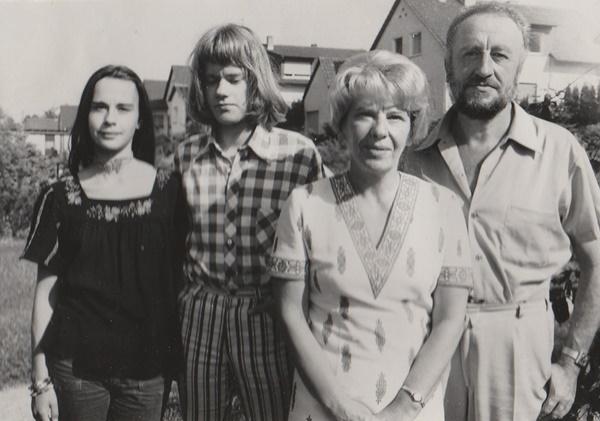 Familie Tettenborn im Jahr 1973