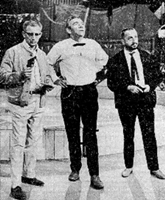 Peter Frankenfeld (m.) und Joachim Tettenborn (r.)