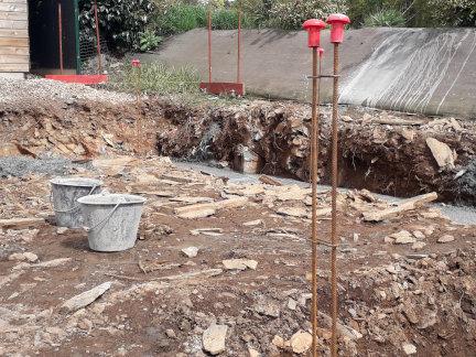 fondations pour la construction d'une maison