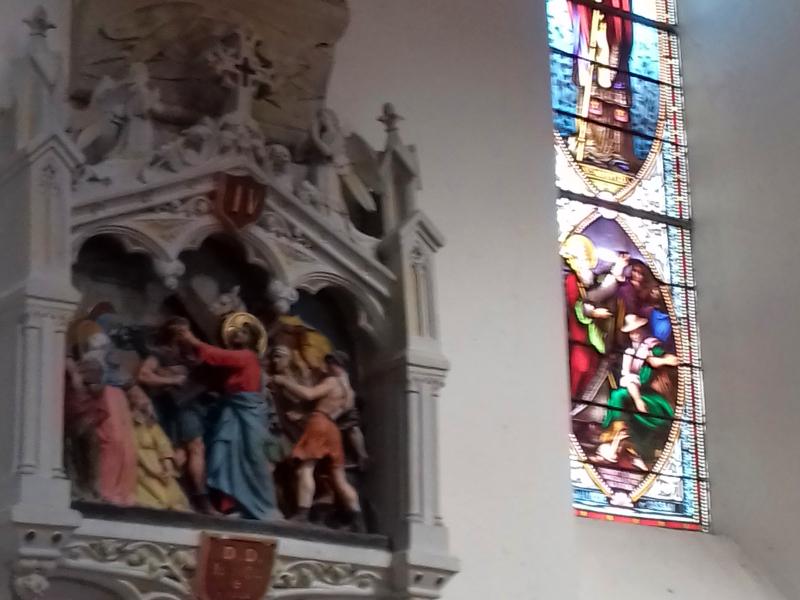 église Saint-Salvadou, Le Bas Ségala