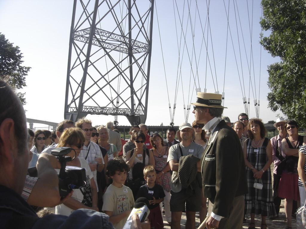Le Pont Transbordeur de Rochefort - visites guidées et héâtralisées à la demande !