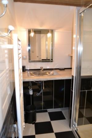 Etage La Petite Grange - salle d'eau lavabo douche