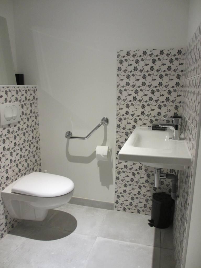 WC et lavabo - Rez de chaussée Gîte la Petite Grange - Gîtes du Maréchat à Cabariot