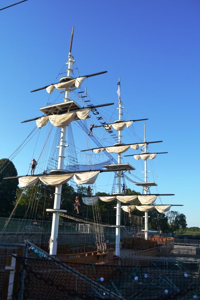 L'Accromâts de Rochefort - unique parc d'aventure de ce type en Europe