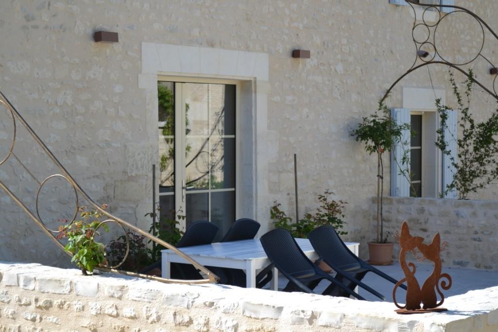 Terrasse La Petite Grange - salon