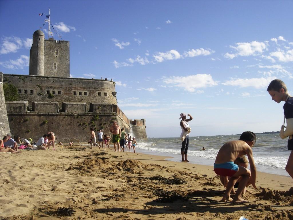 Le Fort Vauban et la plage de Fouras les Bains à 20 mn