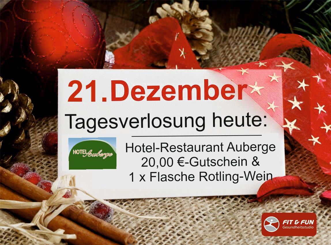 Mitglieder-Adventskalender 21.12. - Kommentiere und gewinne!