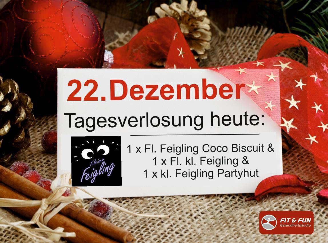 Mitglieder-Adventskalender 22.12. - Kommentiere und gewinne!