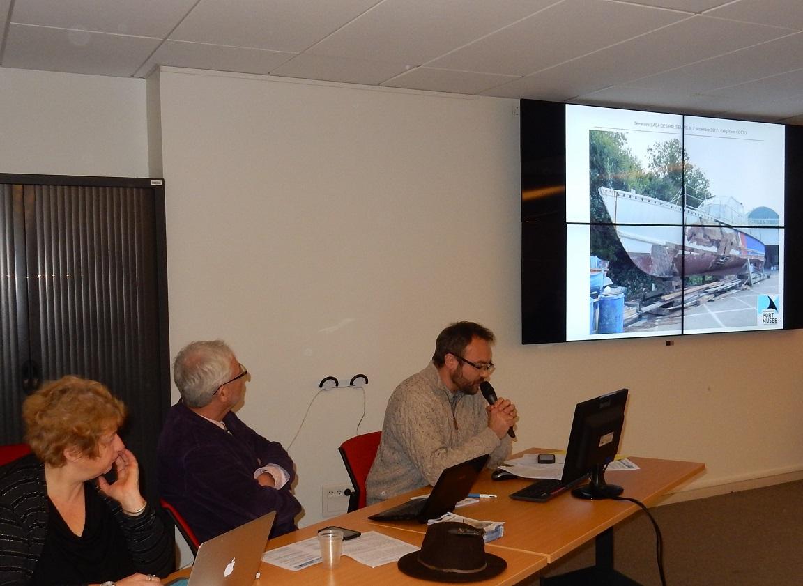 Processus de patrimonialisation à Douarnenez, destins comparés du baliseur ROI-GRADLON et de la vedette BLODWEN par Kelig-Yann COTTO, Conservateur en Chef du patrimoine du Port-Musée de Douarnenez.