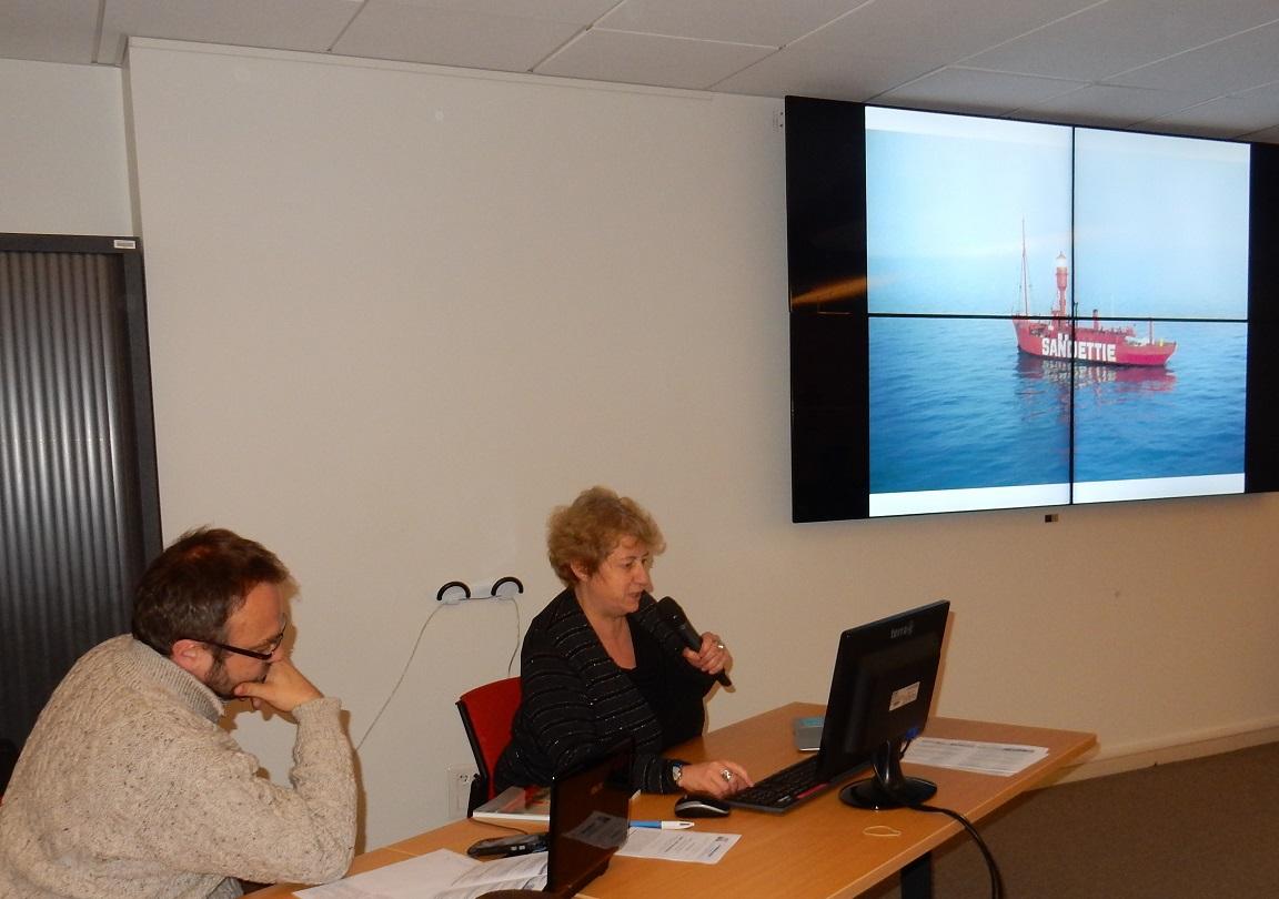 """""""Mise en valeur de la mémoire des marins"""" par Marie-Laure GRIFFATON, Conservatrice en Chef du Patrimoine du Musée portuaire de Dunkerque."""