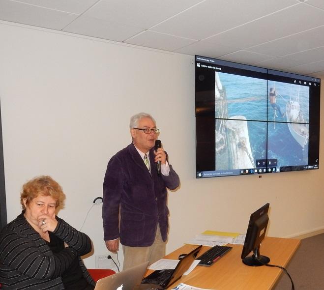 """Luc Fournier, expert du patrimoine au Ministère de la Culture, préside le thème """"Patrimoine naval des Phares et Balises"""""""